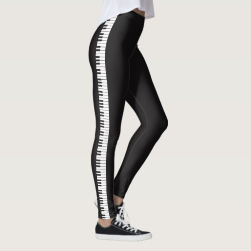 Piano Keyboard Leggings