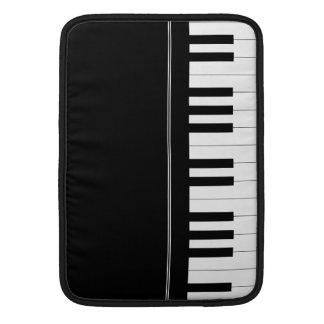 Piano keyboard MacBook sleeve