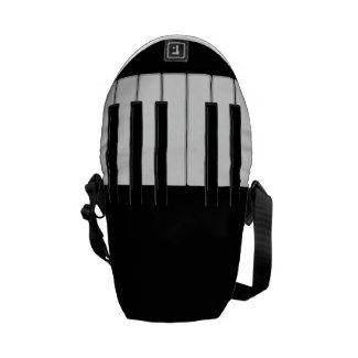 Piano Keyboard Messenger Bag