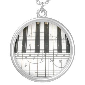 Piano Keyboard Necklaces