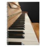Piano Keyboard Notebook
