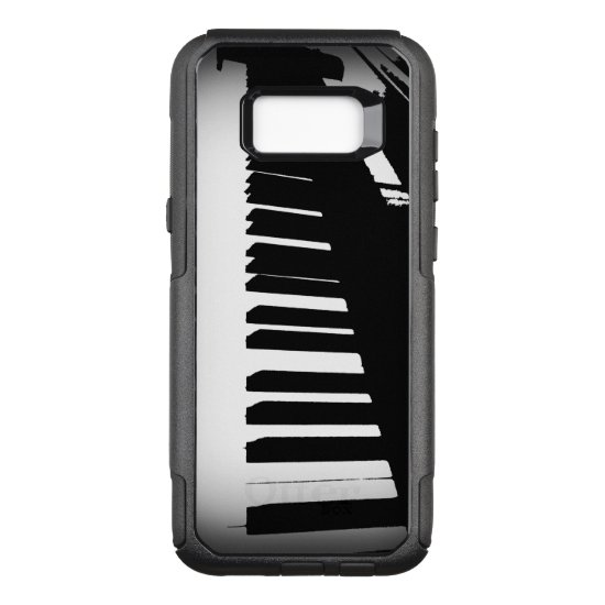 Piano Keyboard OtterBox Commuter Samsung Galaxy S8+ Case