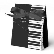 Piano Keyboard Party Favor Box