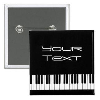 Piano Keyboard Pin Back Button