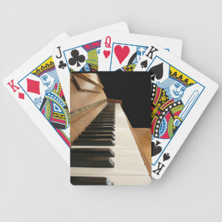 Piano Keyboard Playing Cards Bicycle Playing Cards