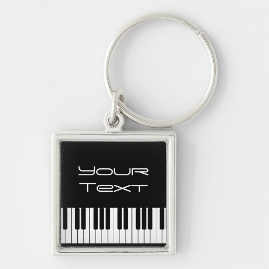 Piano Keyboard Premium Key Chain