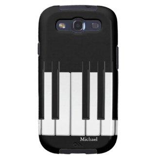 Piano Keyboard Samsung Galaxy S3 Case