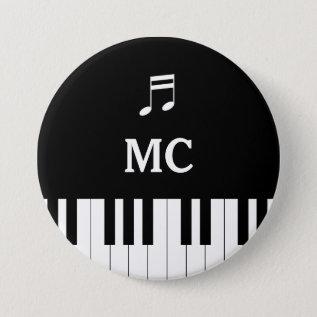 Piano Keyboard Wedding Pin Mc at Zazzle