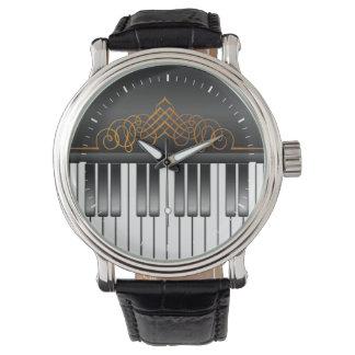 Piano Keyboard Wrist Watches