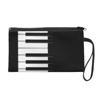 Piano Keyboard Wristlet