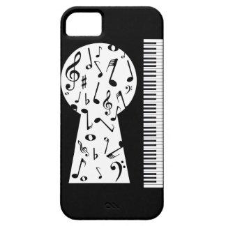 Piano Keyhole iPhone SE/5/5s Case