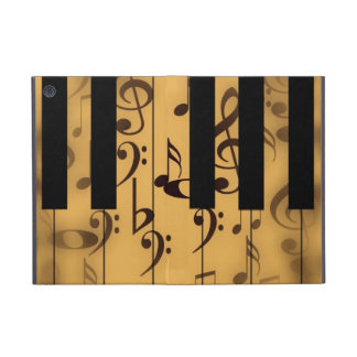 Piano Keys and Musical Notes iPad Mini Case