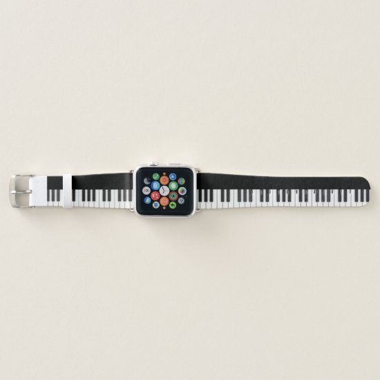 Piano Keys Apple Watch Band