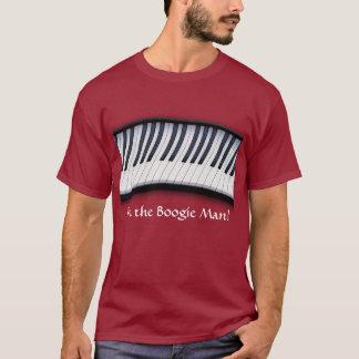 PIANO KEYS Boogie Man Fun Music Lover T-Shirt