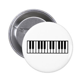 Piano keys buttons