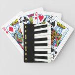 Piano Keys Card Deck
