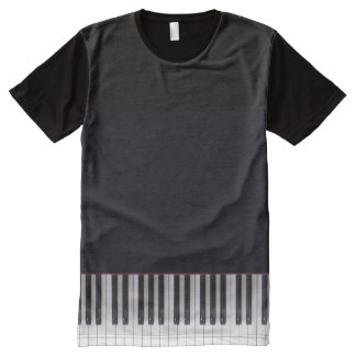 Piano Keys Design by Leslie Harlow All-Over-Print Shirt