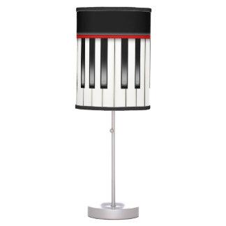 Piano Keys Desk Lamp