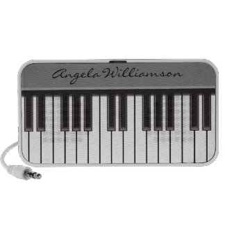 PIano Keys Doodle Speaker (grey)