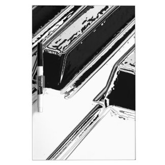 Piano Keys Dry-Erase Whiteboard