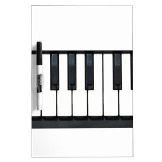 Piano Keys Dry-Erase Boards