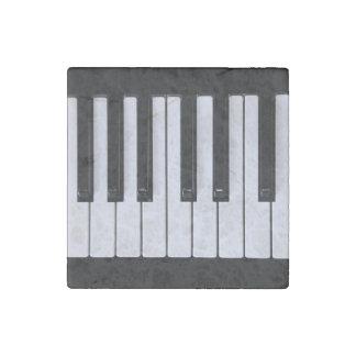 Piano Keys Stone Magnet