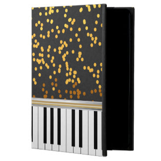 Piano Keys Gold Polka Dots Pattern Powis iPad Air 2 Case