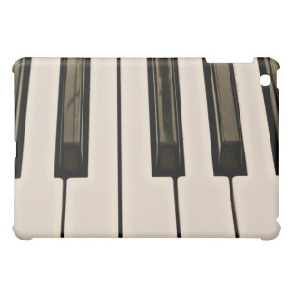 piano keys HDR vintage look electric keyboard Cover For The iPad Mini