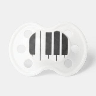 Piano Keys in the Key of Me! Pacifier