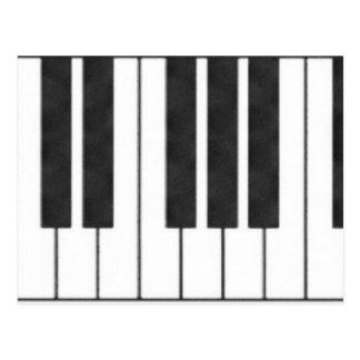 Piano Keys in the Key of Me! Postcard