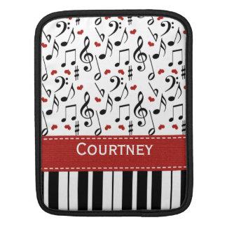 Piano Keys iPad Sleeve