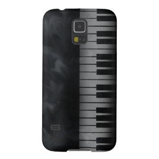 Piano Keys Keyboard Galaxy S5 Cases