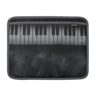 piano keys keyboard macbook sleeve
