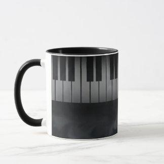 Piano Keys Keyboard Mug