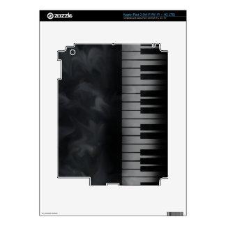 Piano Keys Keyboard iPad 3 Decals