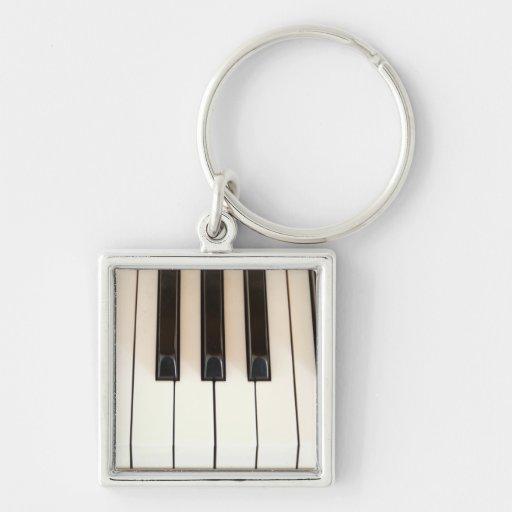 Piano Keys Key Chains