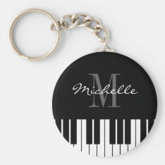 Piano Keys Keychain For Kids, Pianist Or Teacher at Zazzle