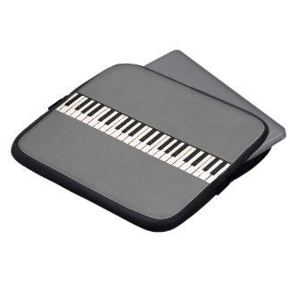 Piano Keys Laptop Computer Sleeve