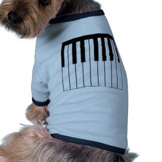 piano keys long pdf pet shirt