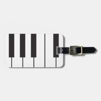 Piano Keys Luggage Tags