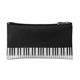 Piano Keys Makeup Bag at Zazzle