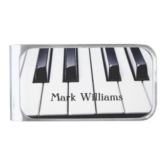 Piano Keys Money Clip