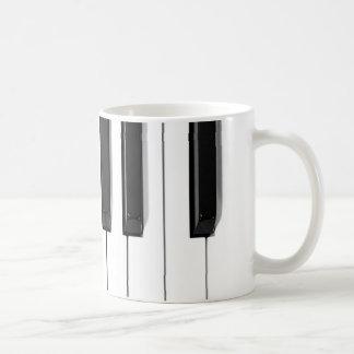 piano keys coffee mugs