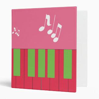 Piano Keys Music Avery Binder