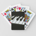 Piano Keys Music Bicycle® Play Deck Of Cards