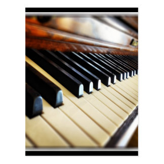 Piano Keys Music Gifts Postcard