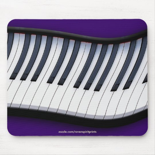 PIANO KEYS MUSIC LOVER Mousepad