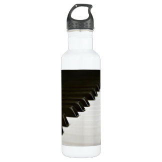 Piano Keys music lover Stainless Steel Water Bottle