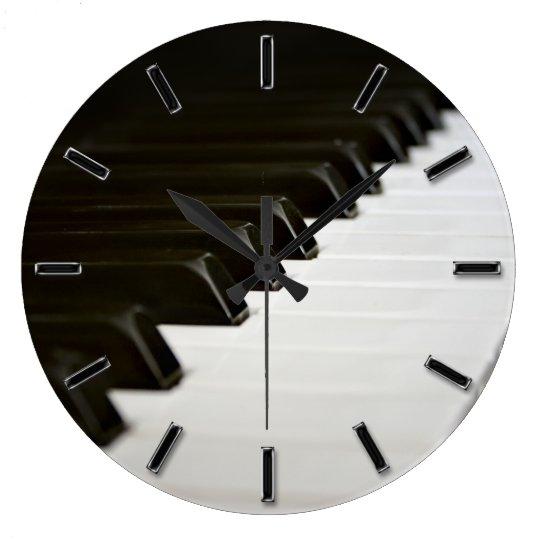 Piano Keys music lover wall clock