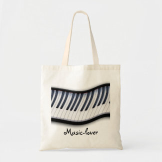 PIANO KEYS Music-Lovers Carry Tote Bag